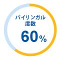 バイリンガル度数60%